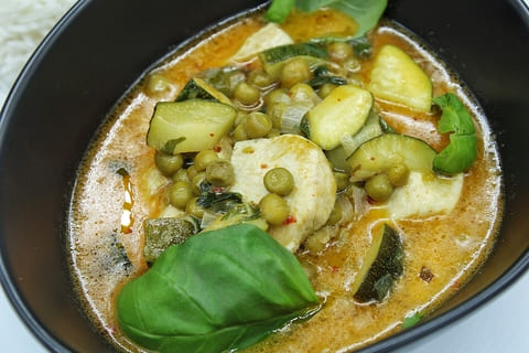 schnelles Hühnchencurry